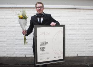 Aron Ståhl, son till Jesper Ståhl, Mat och Design